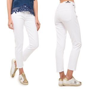 [Citizens of Humanity] Elsa White Cropped Jeans